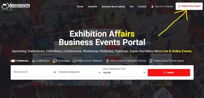 FAQ Website Submit Event Illustration.