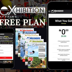 Free Plan For Event Submission On Exhibition Affairs Business Events Portal