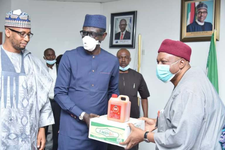 Taraba State and Nexim Bank of Nigeria Agreed To Partner. Image From Vanguard